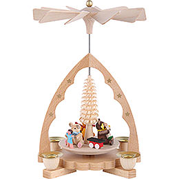1 -  tier Pyramid Bear children  -  7 inch  -  19cm