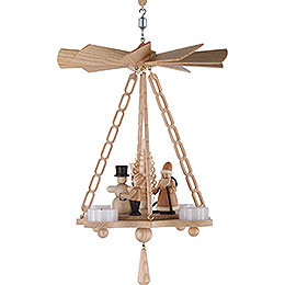 1 - tier hanging pyramid Christmas  -  30cm / 11.8inch