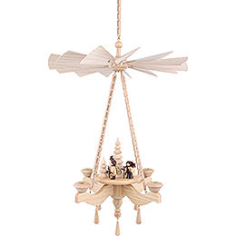 1 - tier hanging pyramid forest people  -  65x42cm / 25.6x16.5inch