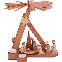 1 - tier pyramid modern Nativity  -  30,5cm / 12 inch