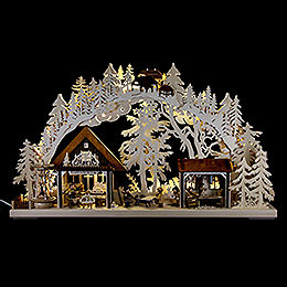 3D  -  Double Arch  -  Artisans House  -  72x43cm / 28x17 inch