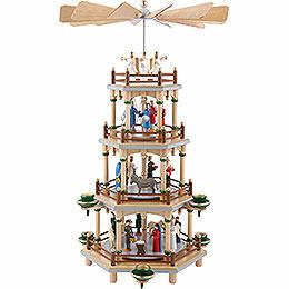 4 - stöckige Pyramide Christi Geburt  -  45cm