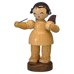 Angel Conductor  -  Natural Colors  -  Standing  -  6cm / 2,3 inch