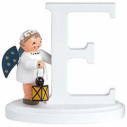 """Angel letter """"E""""  -  7cm / 2.8inch"""