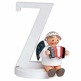 "Angel letter ""Z""  -  7cm / 2.8inch"