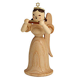 Angel long skirt with mouth organ, natural  -  6,6cm / 2.5inch