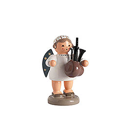 Angel with Bagpipe  -  5cm / 2 inch