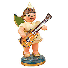 Angel with Classical guitar 6,5cm / 2,5inch