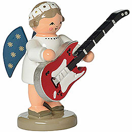 Angel with Guitar  -  5cm / 2 inch