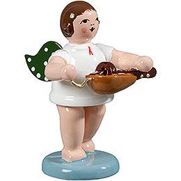 Angel with Hurdy - Gurdy  -  6,5cm / 2.5 inch