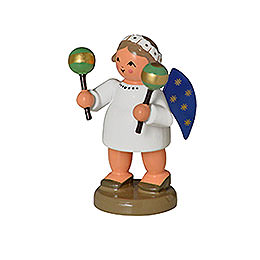 Angel with Maracas  -  5cm / 0,8inch