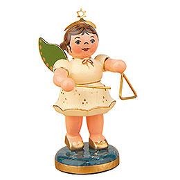 Angel with Triangle  -  6,5cm / 2,5 inch