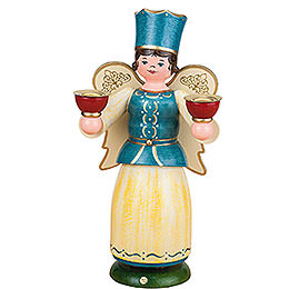 Angel with candles  -  22cm / 8,7inch