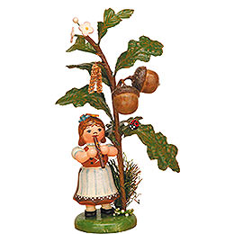 Autumn child acorn   -  13cm / 5inch