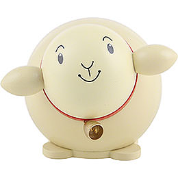 Ball figure sheep colored  -  6cm / 2.3inch