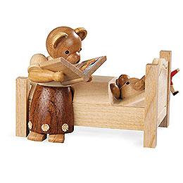 Bear Mom tells good night stories  -  9cm / 3.5 inch