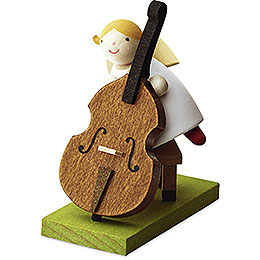 Big Band guardian angel with bass  -  3,5cm / 1.3inch