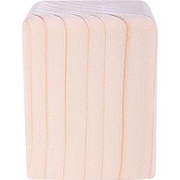 Block Medium Natural  -  8cm / 3.2 inch