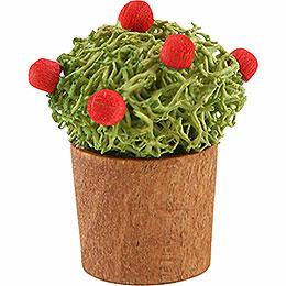 Blumentopf mit Knospen  -  3cm