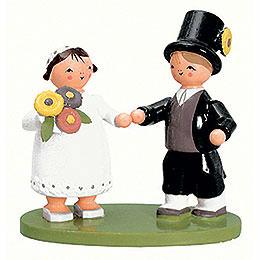 Bridal couple  -  7cm / 2.8inch