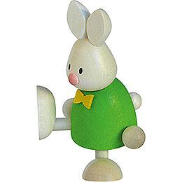 Bunny Max on one leg  -  9cm / 3.5inch
