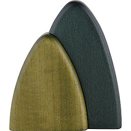 Bush for Wall Frames, Green  -  10cm / 3.9 inch