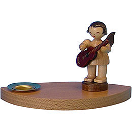 Candle Holder Angel with guitar  -  7cm