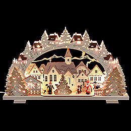 Candle arch Christmas Time exclusive  -  53x31x4,5cm / 21x8x1.8inch