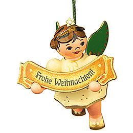 Christbaumschmuck Engel Frohe Weihnacht  -  6cm