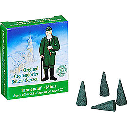 Crottendorfer Incense Cones Scent of Fir  -  Miniature