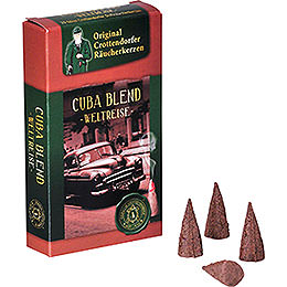 Crottendorfer Incense Cones  -  Trip Around the World  -  Cuba Blend
