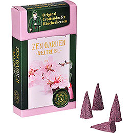 Crottendorfer Incense Cones  -  Trip Around the World  -  Zen Garden
