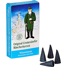 Crottendorfer Incense Cones  -  Winter Dream