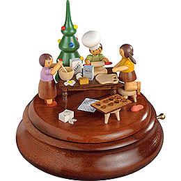Elektronische Spieldose  -  Weihnachtsb�ckerei  -  Rolf Zuckowski Edition  -  19cm