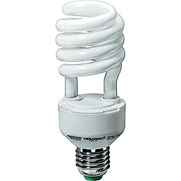 Energy saving laght bulb E27, 8 Watt