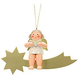 Engel auf Sternschnuppe  -  32,0cm