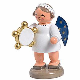 Engel mit Tamburin  -  5cm