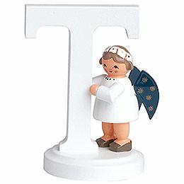 """Engelbuchstabe """"T""""  -  7cm"""