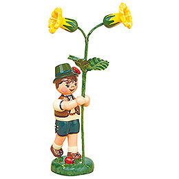 Flower Child Boy with Primrose   -  11cm / 4,3 inch