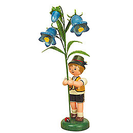 Flower child boy with Thimble  -  24cm / 9,5inch