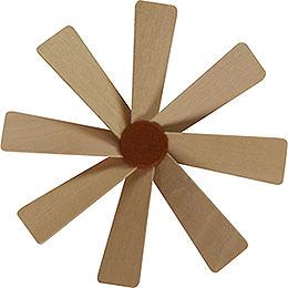 Flügelrad für Weihnachtspyramide  -  Durchmesser = 10cm