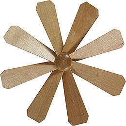 Fl�gelrad f�r Weihnachtspyramide  -  Durchmesser = 21,5cm
