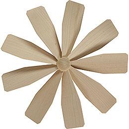 Flügelrad für Weihnachtspyramide  -  Durchmesser = 23cm