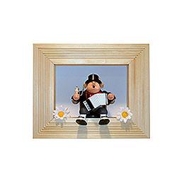 Frame for Edge stool  -  33cmx27cmx8cm  -  color: brown