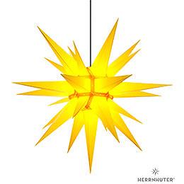 Herrnhuter Stern A13 gelb Kunststoff  -  130cm