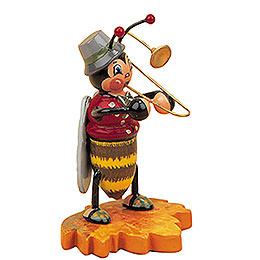 Hummelm�nnchen mit Posaune  -  8cm