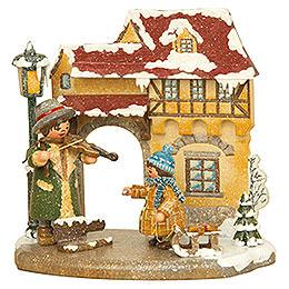 Jahreszeit  -  Winter  -  13x12cm