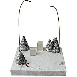 Kulisse 'Im Schnee'  -  28cm