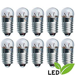 LED Light Bulb  -  E5.5 Socket  -  3.5V