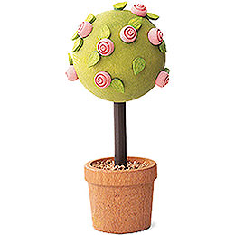 Little rose tree, pink  -  7,5cm / 3inch